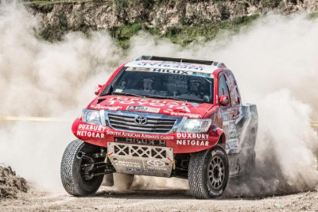 Rally Dakar Etappe 2