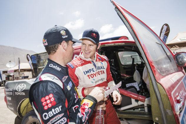 Rally Dakar Etappe 9