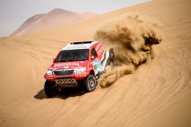 Rally Dakar Etappe 10