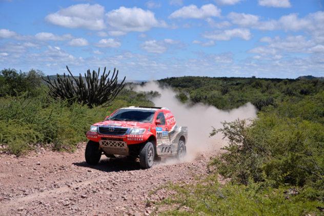 Rally Dakar Etappe 13