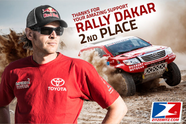 Interview nach der Rally Dakar