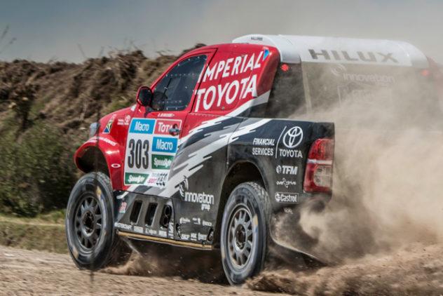 Rally Dakar Etappe 3
