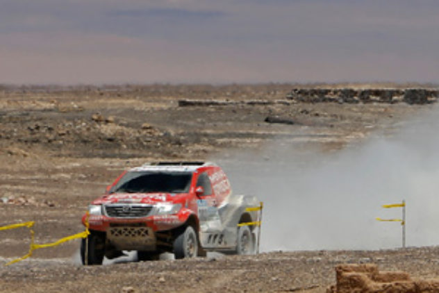 Rally Dakar Etappe 8