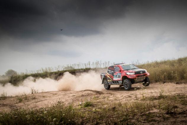 """Auftakt-Sprint bei der """"Dakar"""""""