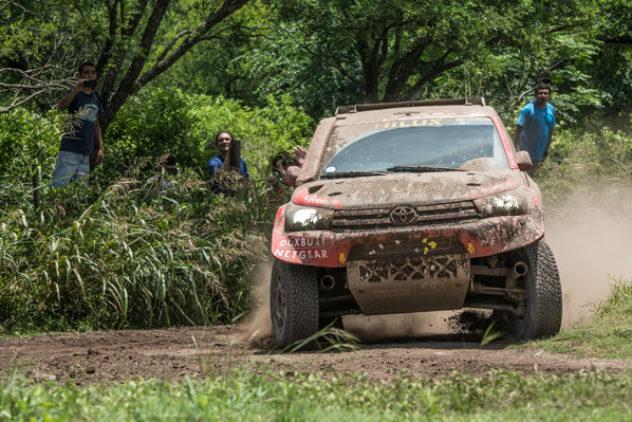 """Giniel de Villiers und Dirk von Zitzewitz erobern """"Dakar""""-Gesamtrang zwei"""
