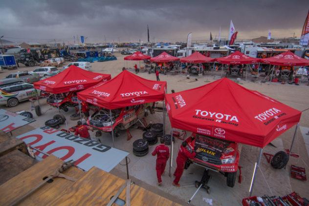 """Harte Arbeit, karger Lohn –  de Villiers/von Zitzewitz machen eine Position bei der """"Dakar"""" gut"""