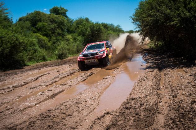 Toyota ohne Fortune auf der dritten Etappe
