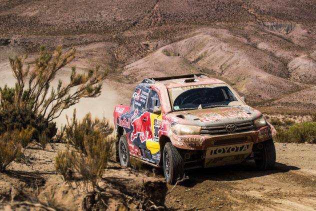 """Der """"Dakar""""-Schleudergang"""