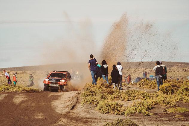 Dakar Gesamtrang sechs