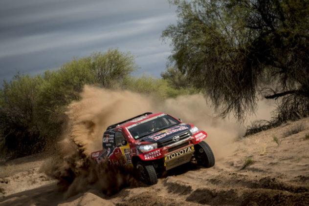 """Hilux #302 bei der """"Dakar"""" weiter auf Kur"""