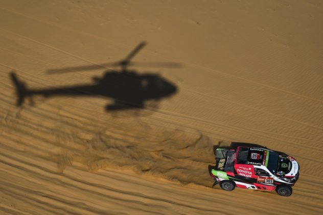 """Getriebeschaden: charakterbildender """"Dakar""""-Tag für Dirk von Zitzewitz"""