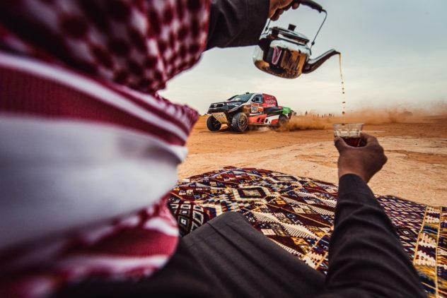 """Stark! Dirk von Zitzewitz Tageszweiter bei der """"Dakar"""""""